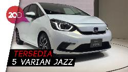 All New Honda Jazz Melantai di Ajang Tokyo Motor Show 2019