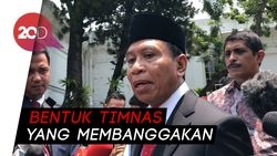 Jokowi Minta Menpora Baru Poles Timnas Sepakbola Indonesia