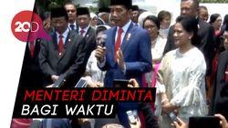 Jokowi Restui Menterinya Rangkap Jabatan di Parpol