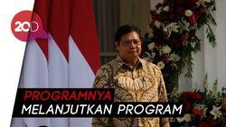 Pimpin Tim Ekonomi Jokowi, Ini 4 Prioritas Airlangga Hartanto