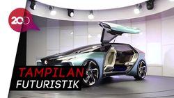Mobil Listrik Perdana Lexus Seperti Burung Camar