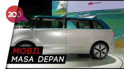 Keren! Penampakan Empat Mobil Konsep Masa Depan Daihatsu