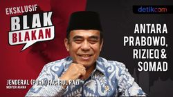 Tonton Blak-blakan Menag: Antara Prabowo, Rizieq & Somad