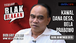 Tonton Blak-blakan Wamendes Budi: Kawal Dana Desa, Bela Prabowo