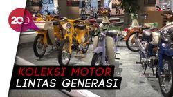Mengintip Koleksi Motor Honda Berbagai Generasi di Museum Honda Jepang