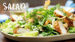 Resep Salad Ayam Goreng