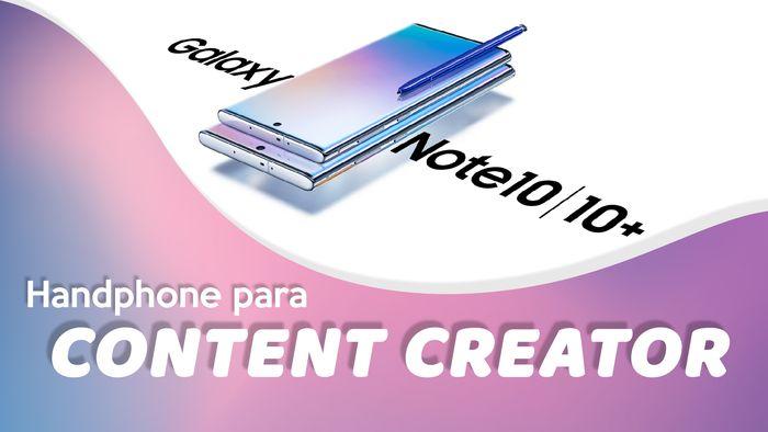 Samsung Galaxy Note 10 Handphone Serba Instan