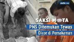 Saksi Mata: PNS Ditemukan Tewas Dicor di Pemakaman