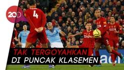 Melihat Gol-gol Keren Liverpool yang Tumbangkan City di Markas Anfield