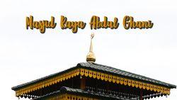 Penampakan Masjid Tertua di Utara Indonesia