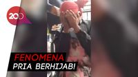 Warga Pergoki Pria Berhijab di Halte Masjid Baiturrahman Aceh