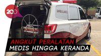 Wuling Confero Dimodif Jadi Ambulans dan Mobil Klinik