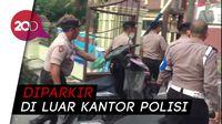Motor Ini Diamankan Polisi, Diduga Milik Pelaku Bom Bunuh Diri