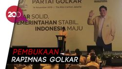 Airlangga di Rapimnas Golkar: Saya Ada Kesepakatan dengan Pak Bambang