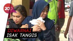 7 Jenazah Korban Kecelakaan di Cipali Dijemput Keluarga