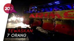 Cari Sebab Kecelakaan Bus di Tol Cipali, Polisi Lakukan Analisis TKP