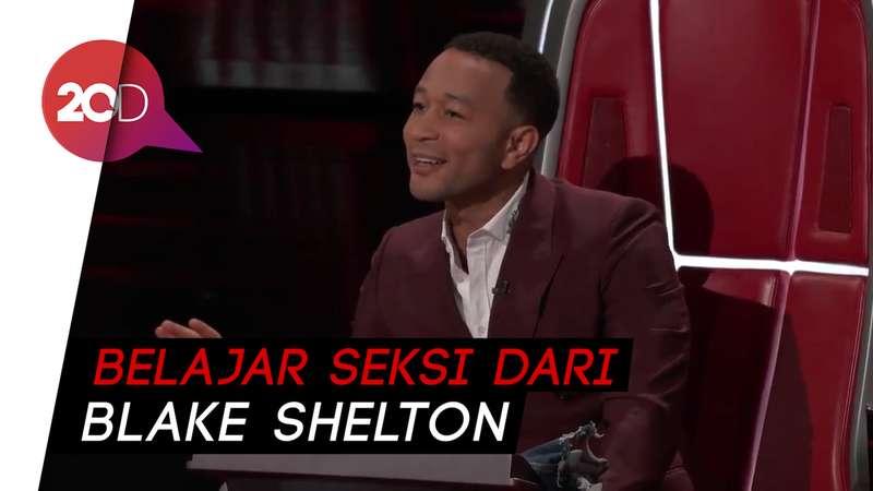 Jadi Pria Terseksi 2019, John Legend: Terima Kasih untuk Blake Shelton