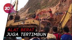 Tambang di Gunung Sariak Padang Longsor, 2 Pekerja Tertimbun