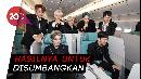Wajah Tampan SuperM Terpampang Nyata di Pesawat Korean Air