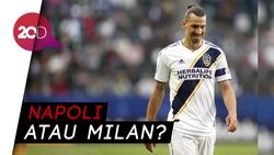 Pelatih LA Galaxy: Ibrahimovic Ingin Pensiun di Italia
