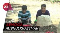 Sekeluarga Korban Kecelakaan di Tol Gempas Dimakamkan Berdampingan