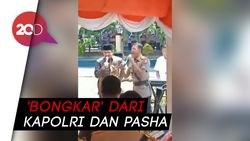 Keren! Duet Kapolri dan Pasha Ungu Dendangkan Lagu Bongkar