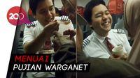 Viral! Pramugara Lion Air Bantu dan Suapi Penumpang Lansia