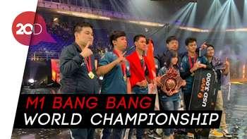 Juara Dunia! Tim Mobile Legends Indonesia Raup Rp 1,1 M