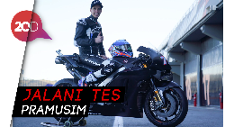 Perdana! Alex Marquez Tunggangi Honda RC213V