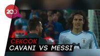 Ribut-ribut di Laga Argentina Vs Uruguay, Cavani Disebut Tantang Messi Kelahi