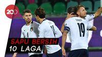 Sempurna, Italia Raih 100 Persen Kemenangan di Kualifikasi Euro