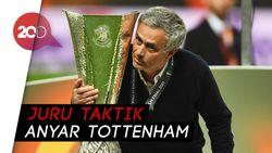Jose Mourinho Resmi Gantikan Pochettino di Spurs