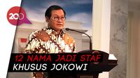 12 Nama Staf Khusus Jokowi Diumumkan Hari Ini, Ada 7 Nama Baru