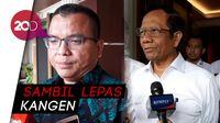 Denny Indrayana Sambangi Mahfud Md, Bicara Hukum dan Pilgub Kalsel