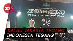 Hadiri Maulid Nabi di Istiqlal, Anies: Kita Ingin Jakarta Damai