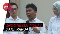 Jadi Staf Khusus, Gracia Ajak Jokowi Bangun Indonesia dari Papua