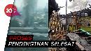 Rumah Terbakar di Kuningan Timur, Api Berhasil Dijinakkan