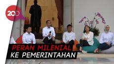Tunjuk Staf Khusus dari Milenial, Apa Maksud Jokowi?