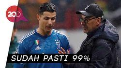 Ronaldo Dipastikan Absen Bela Juve Kontra Atalanta