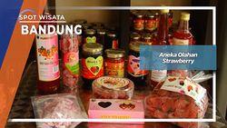 Aneka Olahan Strawberry Bandung