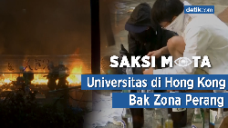 Saksi Mata: Universitas di Hong Kong Bak Zona Perang