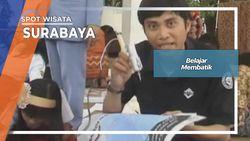 Tradisi Membatik Sejak Usia Dini Surabaya