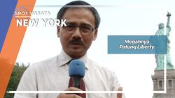 Megahnya Patung Liberty, New York