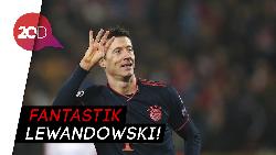 Lewandowski Quat-trick dalam 14 Menit, Bayern Hajar Red Star 6-0