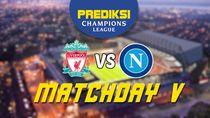 PSSI: Prediksi Kemenangan Matchday Ke-5 Napoli vs Liverpool