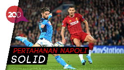 Liverpool Gagal Balas Dendam ke Napoli
