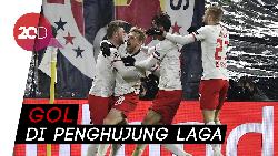 RB Leipzig Lolos Dramatis ke Babak 16 Besar!