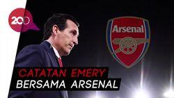 Dipecat Arsenal, Bagaimana Statistik Emery?