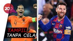 Gerrard Soal Ballon dOr: Van Dijk Yes, Messi No