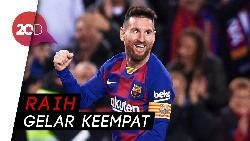 Messi Sabet Gelar Playmaker Terbaik 2019, Ini Aksi-aksinya